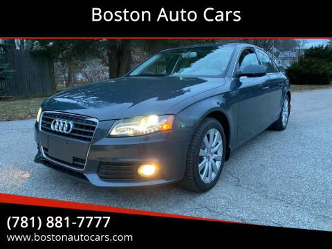 2011 Audi A4 for sale at Boston Auto Cars in Dedham MA
