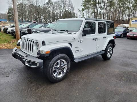 2020 Jeep Wrangler Unlimited for sale at GA Auto IMPORTS  LLC in Buford GA