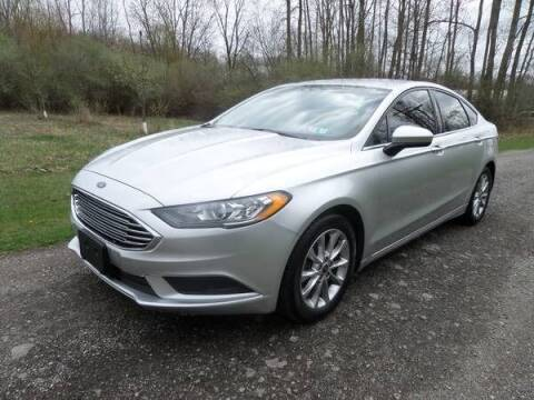 2017 Ford Fusion for sale at Apex Auto Sales LLC in Petersburg MI