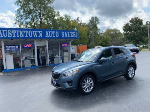 2015 Mazda CX-5 for sale at Austintown Auto Sales LLC in Austintown OH