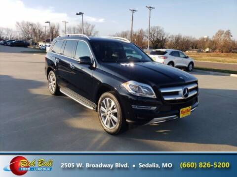 2016 Mercedes-Benz GL-Class for sale at RICK BALL FORD in Sedalia MO