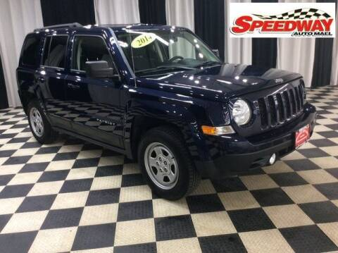 2014 Jeep Patriot for sale at SPEEDWAY AUTO MALL INC in Machesney Park IL