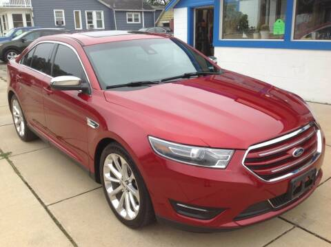 2015 Ford Taurus for sale at Sindic Motors in Waukesha WI