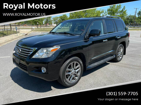 2009 Lexus LX 570 for sale at Royal Motors in Hyattsville MD