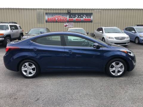 2016 Hyundai Elantra for sale at Stikeleather Auto Sales in Taylorsville NC