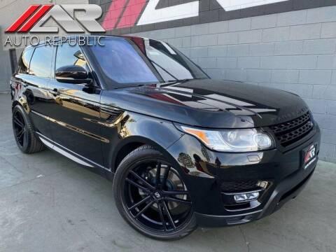 2017 Land Rover Range Rover Sport for sale at Auto Republic Fullerton in Fullerton CA