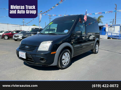 2013 Ford Transit Connect for sale at Rivieras Truck and Auto Group in Chula Vista CA