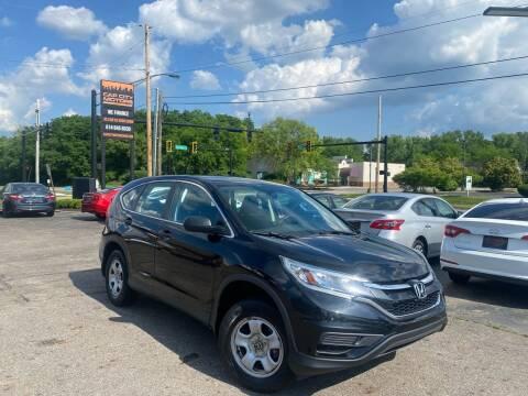 2015 Honda CR-V for sale at Cap City Motors LLC in Columbus OH