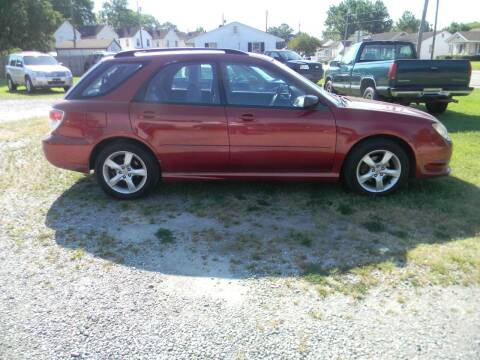 2007 Subaru Impreza for sale at SeaCrest Sales, LLC in Elizabeth City NC