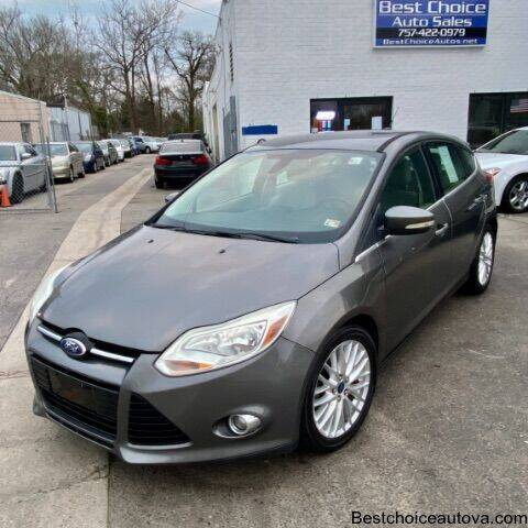 2012 Ford Focus for sale at Best Choice Auto Sales in Virginia Beach VA