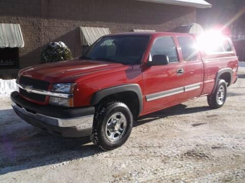 2004 Chevrolet Silverado 1500 for sale at Depot Auto Sales Inc in Palmer MA