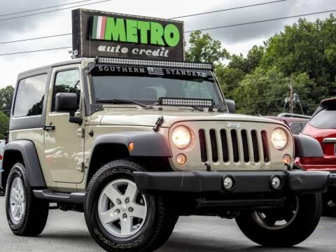 2017 Jeep Wrangler for sale at Metro Auto Credit in Smyrna GA