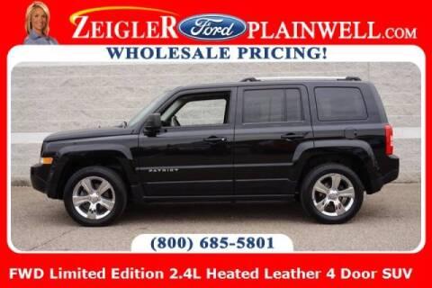 2015 Jeep Patriot for sale at Zeigler Ford of Plainwell- michael davis in Plainwell MI