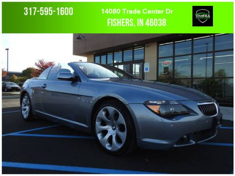 2006 BMW 6 Series for sale at Omega Autosports of Fishers in Fishers IN
