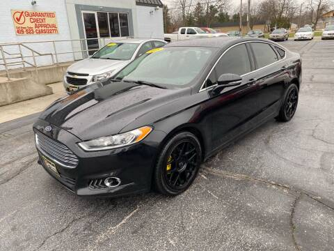2015 Ford Fusion for sale at Huggins Auto Sales in Ottawa OH