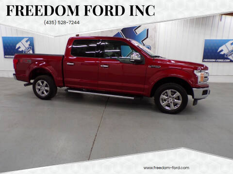 2018 Ford F-150 for sale at Freedom Ford Inc in Gunnison UT