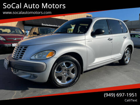 2002 Chrysler PT Cruiser for sale at SoCal Auto Motors in Costa Mesa CA