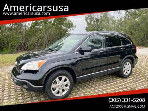 2007 Honda CR-V for sale at Americarsusa in Hollywood FL