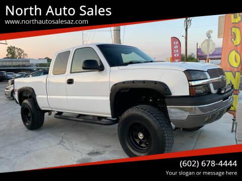 2003 Chevrolet Silverado 1500 for sale at North Auto Sales in Phoenix AZ