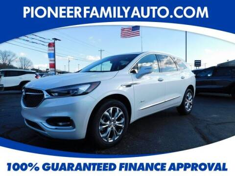 2021 Buick Enclave for sale at Pioneer Family auto in Marietta OH