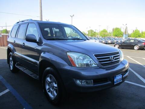2005 Lexus GX 470 for sale at Choice Auto & Truck in Sacramento CA
