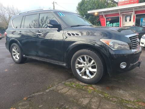 2011 Infiniti QX56 for sale at Universal Auto Sales in Salem OR