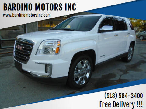 2016 GMC Terrain for sale at BARDINO MOTORS INC in Saratoga Springs NY