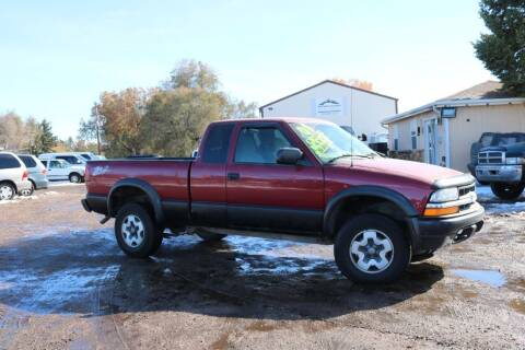 2001 Chevrolet S-10 for sale at Northern Colorado auto sales Inc in Fort Collins CO