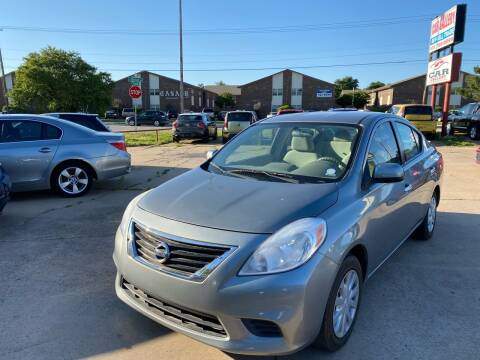 2014 Nissan Versa for sale at Car Gallery in Oklahoma City OK
