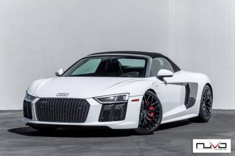 2018 Audi R8 for sale at Nuvo Trade in Newport Beach CA