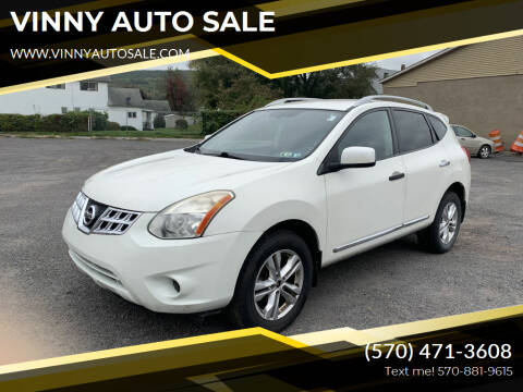 2013 Nissan Rogue for sale at VINNY AUTO SALE in Duryea PA