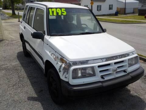 1998 Chevrolet Tracker for sale at SEBASTIAN AUTO SALES INC. in Terre Haute IN