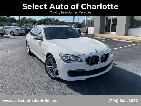 2015 BMW 7 Series for sale at Select Auto of Charlotte in Matthews NC