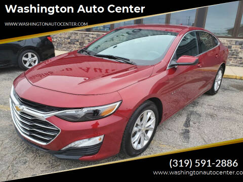 2020 Chevrolet Malibu for sale at Washington Auto Center in Washington IA