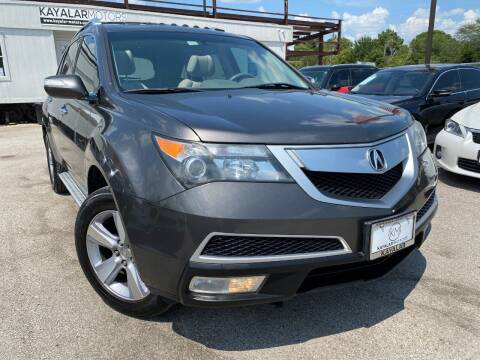 2012 Acura MDX for sale at KAYALAR MOTORS in Houston TX