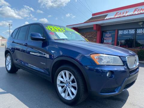 2013 BMW X3 for sale at Premium Motors in Louisville KY
