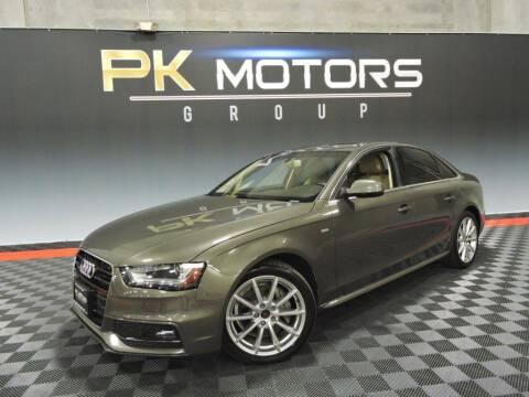 2014 Audi A4 for sale at PK MOTORS GROUP in Las Vegas NV