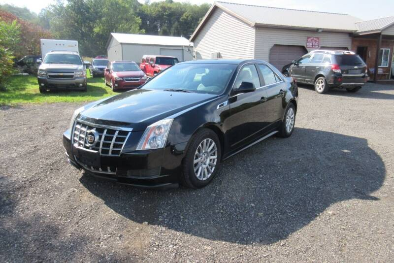 2012 Cadillac CTS for sale at Clearwater Motor Car in Jamestown NY