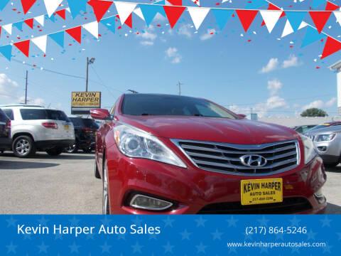 2013 Hyundai Azera for sale at Kevin Harper Auto Sales in Mount Zion IL