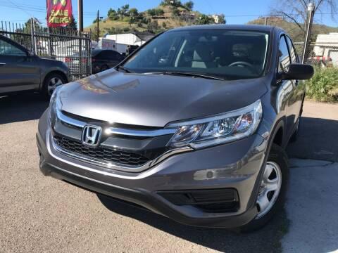 2016 Honda CR-V for sale at Vtek Motorsports in El Cajon CA