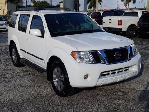 2012 Nissan Pathfinder for sale at Brascar Auto Sales in Pompano Beach FL