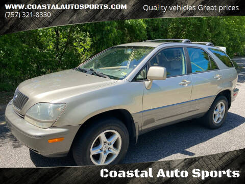 2000 Lexus RX 300 for sale at Coastal Auto Sports in Chesapeake VA