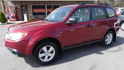 2012 Subaru Forester for sale at Driven Pre-Owned in Lenoir NC