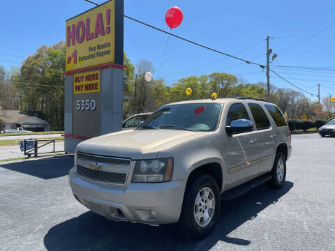 2008 Chevrolet Tahoe for sale at No Full Coverage Auto Sales in Austell GA