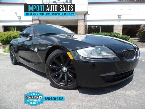 2007 BMW Z4 for sale at IMPORT AUTO SALES in Knoxville TN