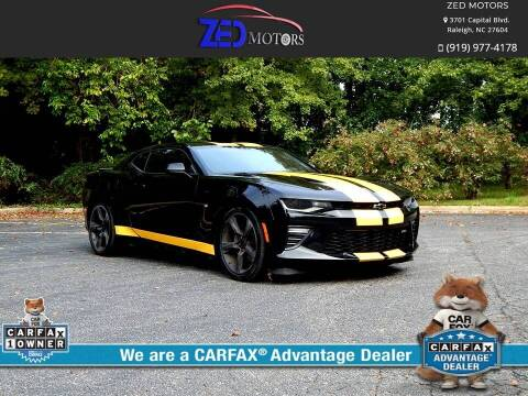 2016 Chevrolet Camaro for sale at Zed Motors in Raleigh NC