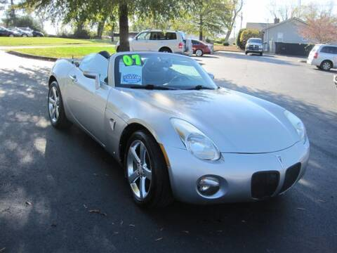 2007 Pontiac Solstice for sale at Euro Asian Cars in Knoxville TN