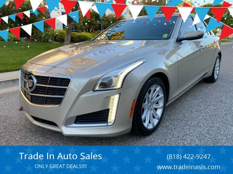2014 Cadillac CTS for sale at Trade In Auto Sales in Van Nuys CA