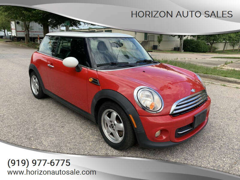 2011 MINI Cooper for sale at Horizon Auto Sales in Raleigh NC