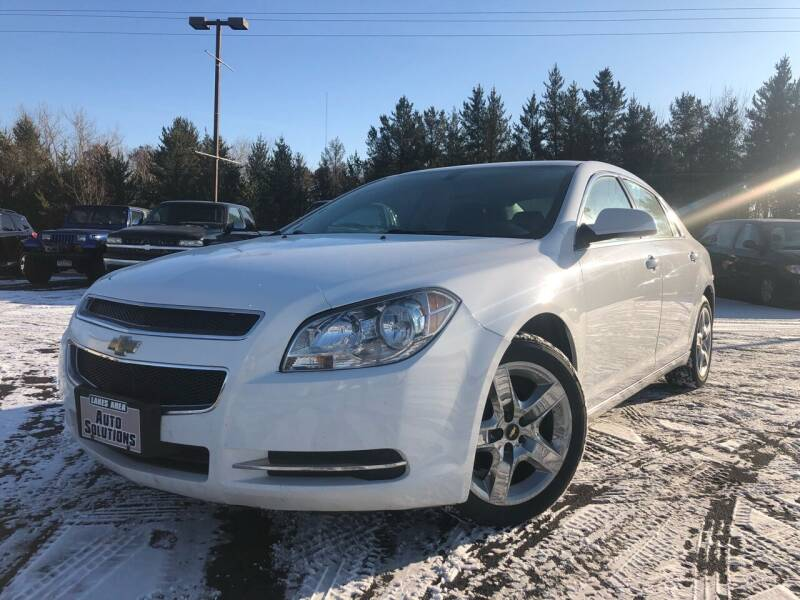 2010 Chevrolet Malibu for sale at Lakes Area Auto Solutions in Baxter MN